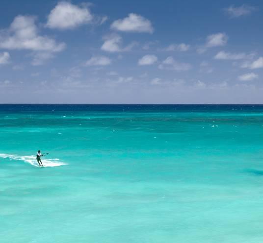 Zanzibar. Kitesurfers paradise