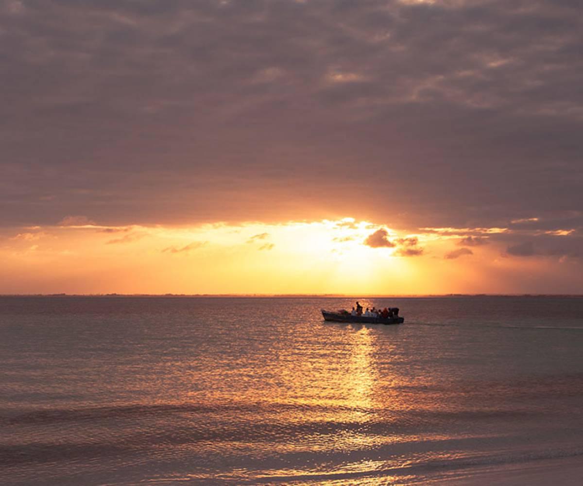 Sunset in Michamvi